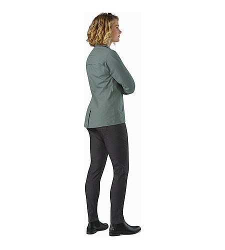 A2B Commuter Pant Women's Carbon Fibre Back View