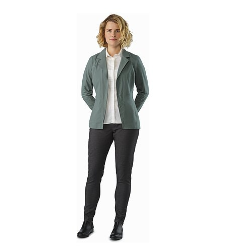 A2B Commuter Pant Women's Carbon Fibre Front View