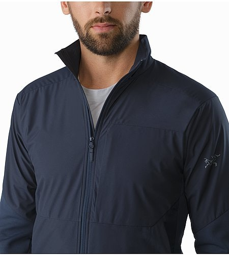 A2B Comp Jacket Nighthawk Open Collar