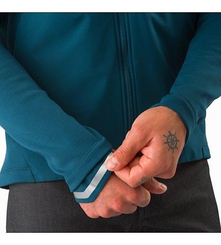 Veste A2B Comp Odyssea Élément réfléchissant sur le poignet