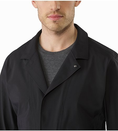 A2B Hardshell Blazer Black Open Collar