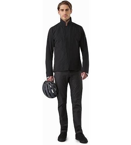 A2B Hardshell Blazer Black Outfit