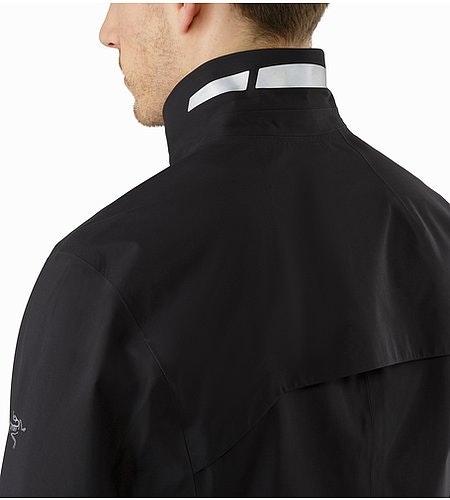 A2B Hardshell Blazer Black Reflective Feature