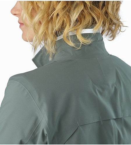 A2B Hardshell Blazer Women's Boxcar Collar Reflective Feature