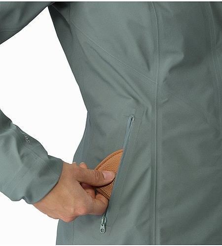 A2B Hardshell Blazer Women's Boxcar Hand Pocket