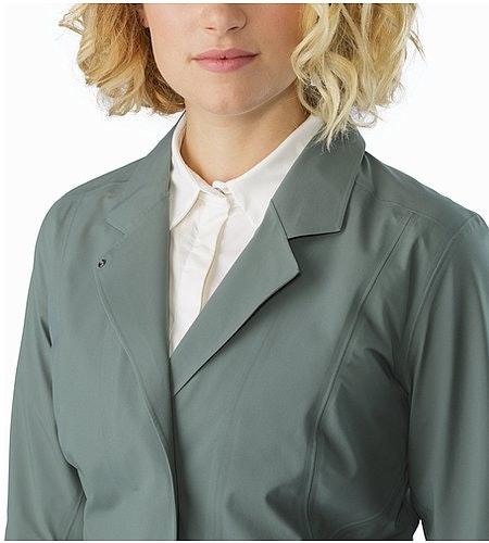 A2B Hardshell Blazer Women's Boxcar Open Collar