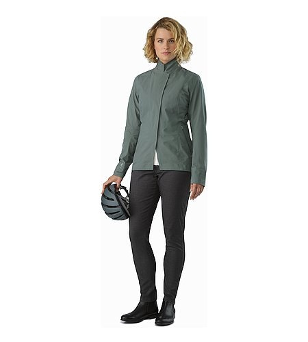 A2B Hardshell Blazer Women's Boxcar Outfit