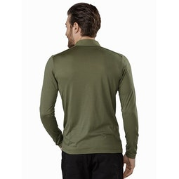 A2B Polo Shirt LS Wildwood Back View