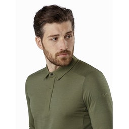 A2B Polo Shirt LS Wildwood Collar
