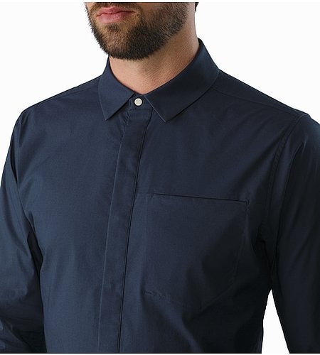 A2B Shirt LS Nighthawk Closed Collar