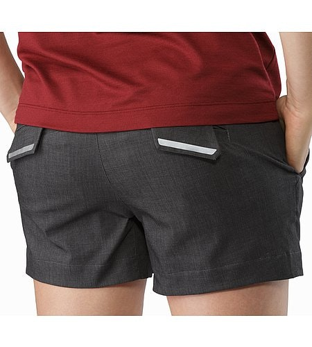 A2B Skort Carbon Fibre External Pocket Back Reflective Feature