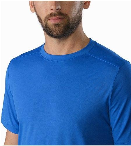 A2B T-Shirt Deja Blue Neckline