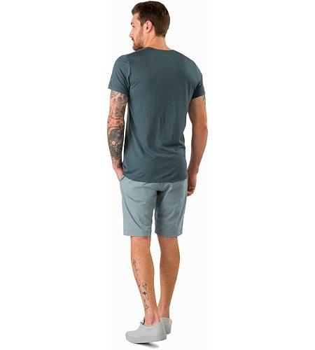T-shirt en col V A2B MC Neptune Vue de dos