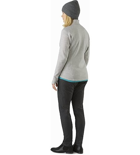 A2B Vinta Jacket Women's Fawn Heather Back View