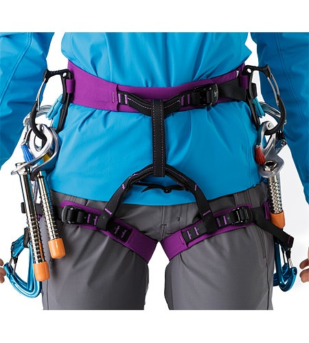 AR-385a Harness Women's Sumire Front View Details
