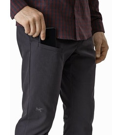 Abbott Pant Carbon Copy External Pocket Front