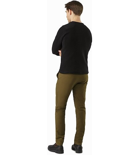 Abbott Pant Dark Moss Back View