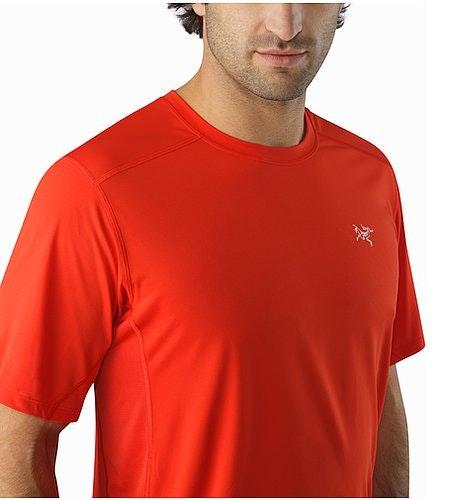T-shirt Accelero Comp MC Cardinal Encolure