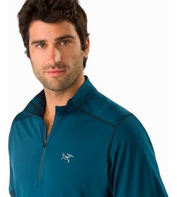 Accelero Comp Zip Neck SS Odyssea Open Collar