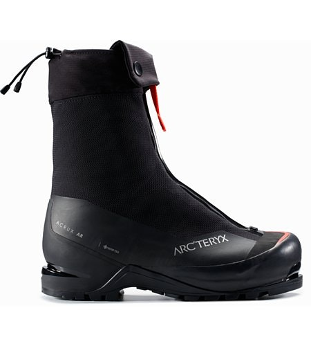 Acrux AR Mountaineering Boot Black Cajun Side View
