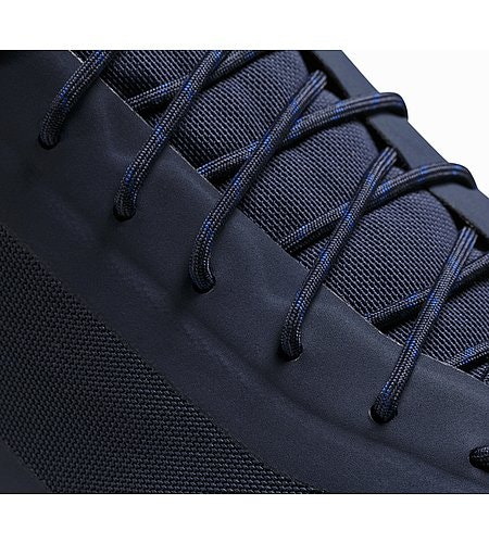 Acrux SL GTX Approach Shoe Total Eclipse Blue Nights Lace Detail