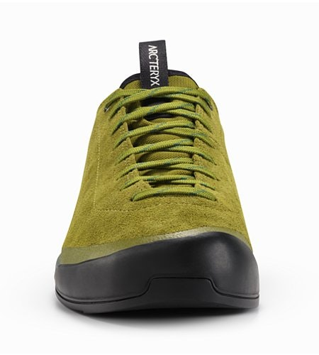 Acrux SL Leather Approach Shoe Carmanah Evergreen Front View