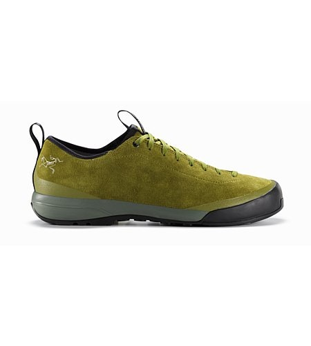 Acrux SL Leather Approach Shoe Carmanah Evergreen Side View