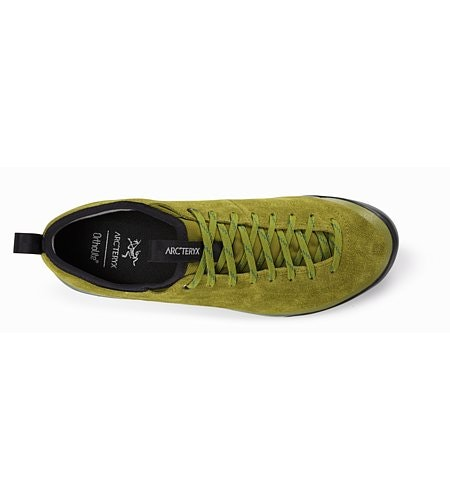 Acrux SL Leather Approach Shoe Carmanah Evergreen Top View