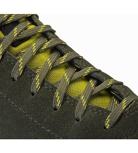 Acrux SL Leather Approach Shoe Deep Iguana Antique Moss Ösenverstärkung