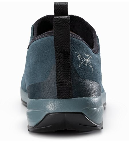 Acrux SL Leather Approach Shoe Neptune Everglade Back View
