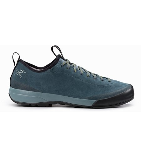 Acrux SL Leather Approach Shoe Neptune Everglade Side View