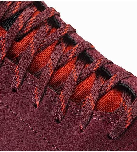 Acrux SL Leather Approach Shoe Women's Porto Coral Lace Detail
