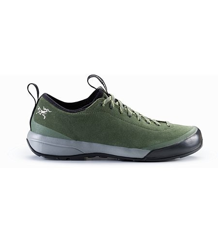 Acrux SL Leather Approach Shoe Women's Shorepine Light Titanite Side View