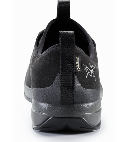 Acrux SL Leather GTX Approach Shoe Black Shark Back View