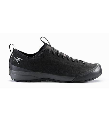 Acrux SL Leather GTX Approach Shoe Black Shark Side View