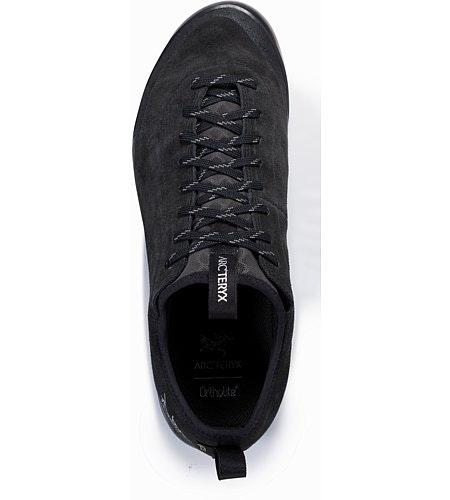 Acrux SL Leather GTX Approach Shoe Black Shark Top View