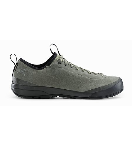 Acrux SL Leather GTX Approach Shoe Damen Castor Grey Shadow Seitenansicht