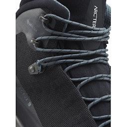 アクルックス TR GTX ブーツ ブラック 靴ひもディテール