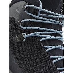 アクルックス TR GTX ブーツ ウィメンズ ブラック 靴ひもディテール