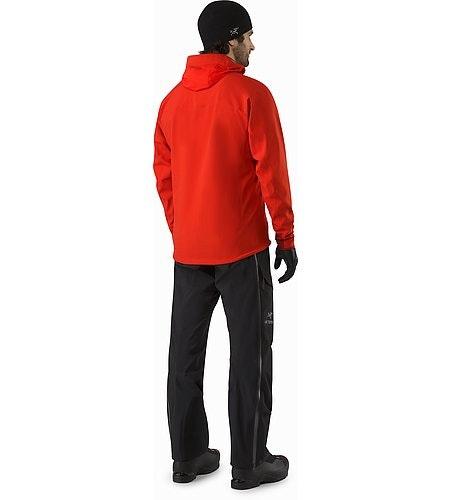 Acto FL Jacket Cardinal Back View