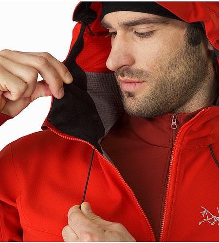 Acto FL Jacket Cardinal Hood Adjuster 2