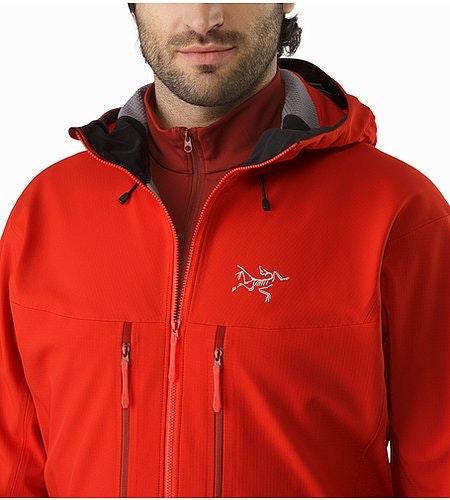 Acto FL Jacket Cardinal Open Collar
