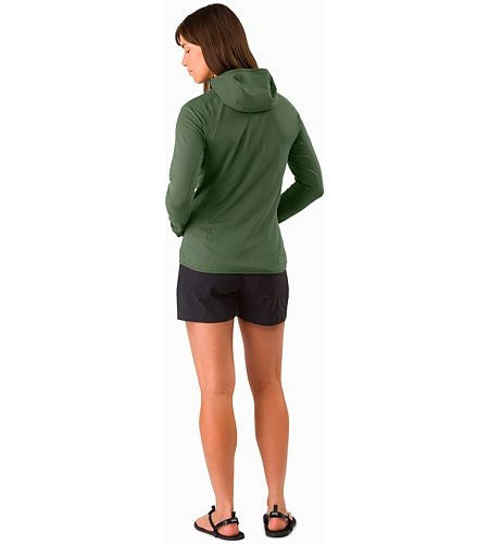 Adahy Hoody Women's Larix Back View
