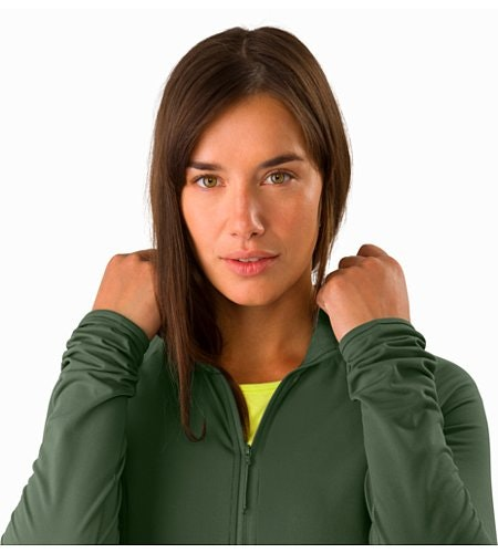 Sweat à capuche Adahy Femme Larix Col