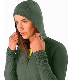 Adahy Hoody Women's Larix Hood Up