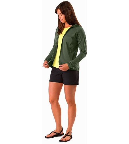 Adahy Hoody Women's Larix Open View
