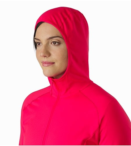 Adahy Hoody Women's Rad Hood Side View