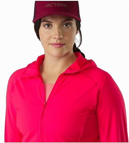 Adahy Hoody Women's Rad Open Collar
