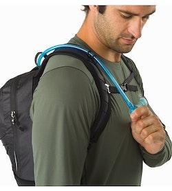 Aerios 10 Backpack Raven Shoulder Strap