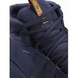 Aerios FL Mid GTX Shoe Cobalt Moon Yukon Lace Detail
